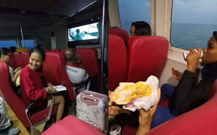 Toleransi! Wanita China Non-Muslim Ini Berbagi Makanan Untuk Buka Puasa Ke Penumpang Lain Saat Kapal Rusak