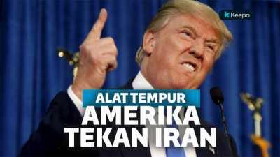 Amerika Terus Tekan dan Gencat Iran Ini Alat Tempur yang Digunakan