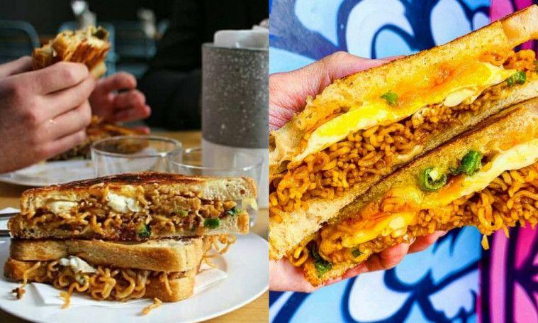 Racikan Mie Instan Asal Indonesia Jadi Menu Sandwich Terbaik di Sydney
