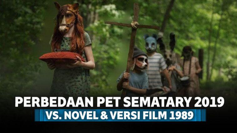 7 Perbedaan Pet Sematary 2019 dengan Versi Novel dan Film Pendahulunya