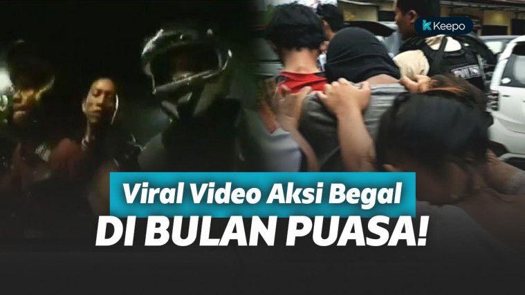 Viral Video Begal Beraksi di Bulan Ramadhan dari Malam Sampai Subuh!