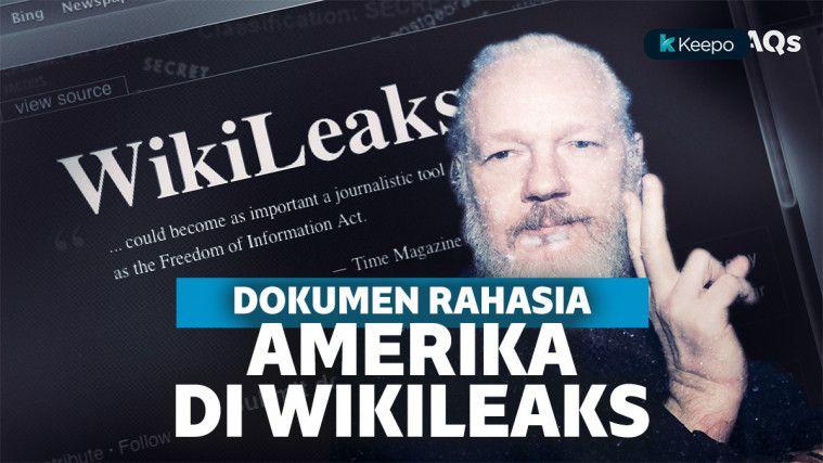 Beberapa Dokumen Rahasia Milik Amerika Serikat Ini Dibocorkan WikiLeaks