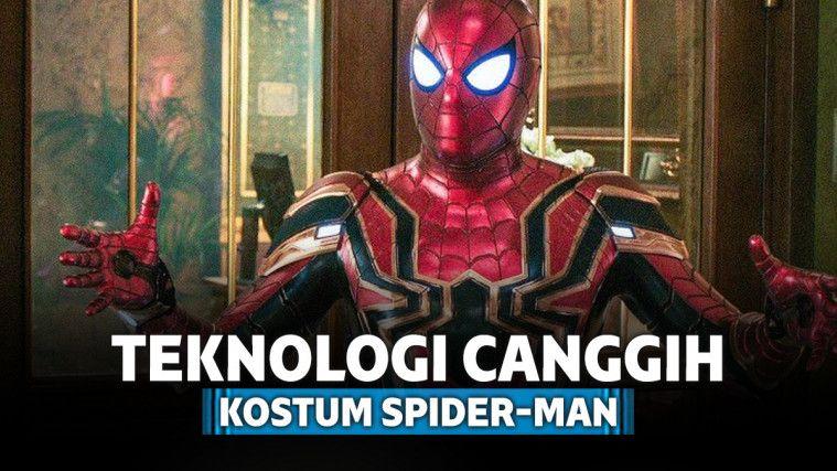 10 Teknologi Canggih yang Ada Pada Kostum Spider-Man