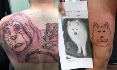 Bikin Tatto Dengan Bugdet Minim Hasilnya Malah Bikin Ngakak