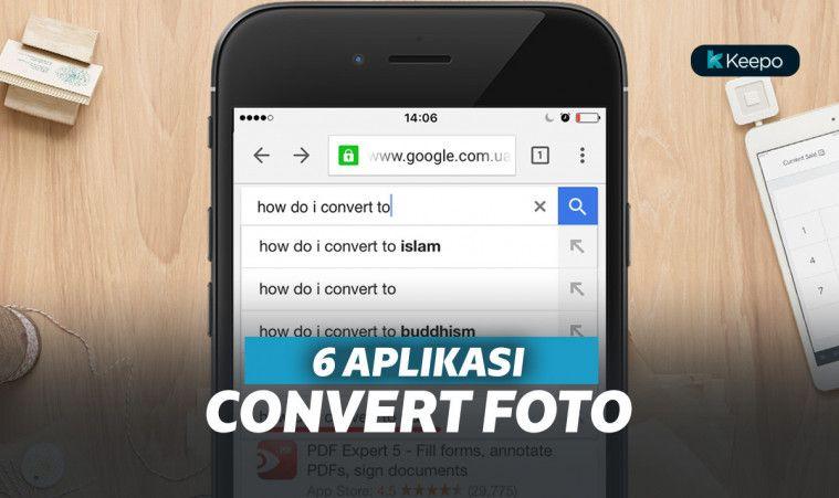 6 Aplikasi Convert Foto ini Praktis Banget