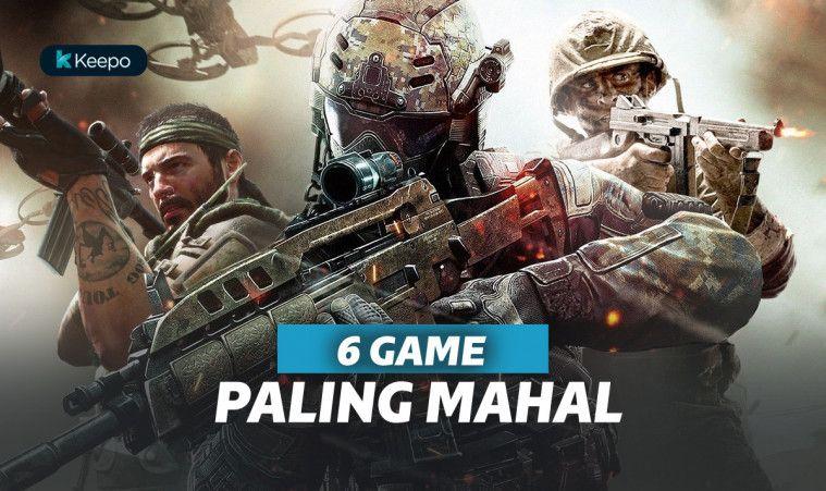 6 Game Paling Mahal, Masuk Akal Nggak Sih?