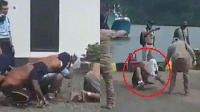 Viral Video Napi Nusakambangan Diseret Paksa Petugas, Ternyata Ini Penyebabnya