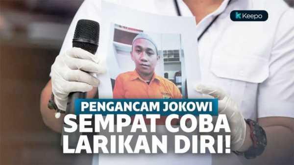 Pelaku Pengancam Penggal Kepala Jokowi Sempat Kabur Setelah Viral Di Media Sosial