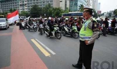 Pembatasan Sepeda Motor Ditunda