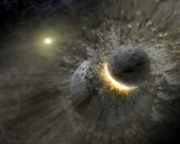 Awalnya Bumi Tidak Punya Bulan