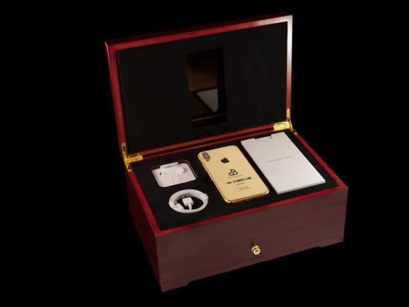Gokil! iPhone Xs Berlapis Emas Dibanderol Rp 1,8 Miliar