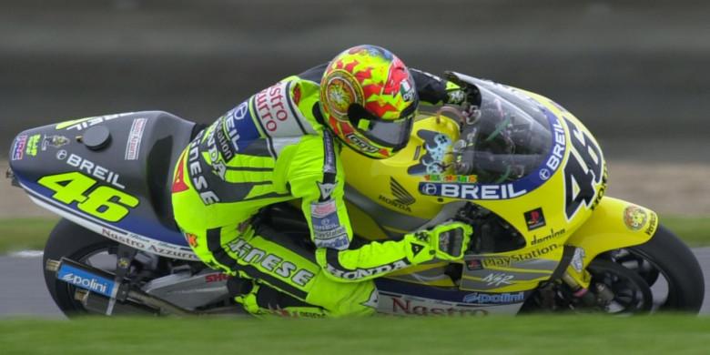 Rossi dan Kenangan pada Balapan Pertama MotoGP