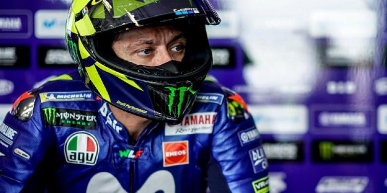 Patung Valentino Rossi Dibuat di Sirkuit Autodromo Termas de Rio Hondo