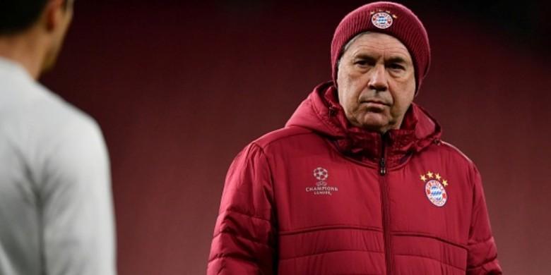 Tersingkir dari Liga Champions, Karier Ancelotti di FC Bayern Jadi Sorotan