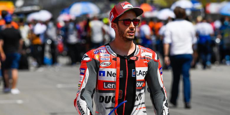 Bos Ducati Lebih Bela Dovizioso Dibandingkan Jorge Lorenzo