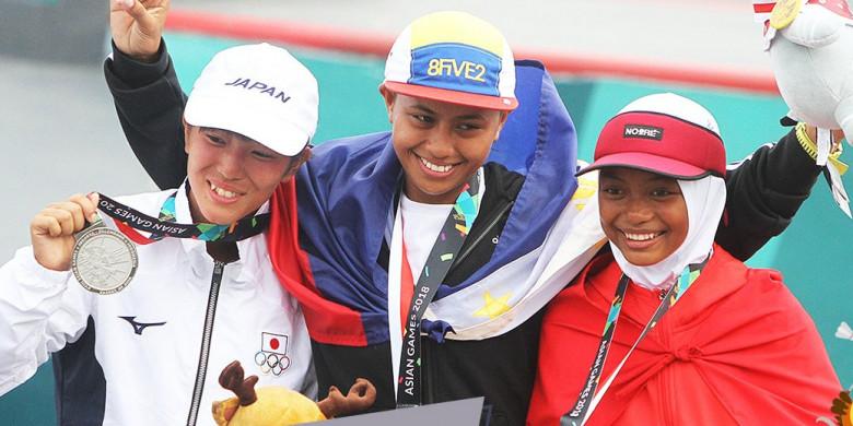 Fakta Peraih Medali Termuda dan Tertua di Asian Games 2018