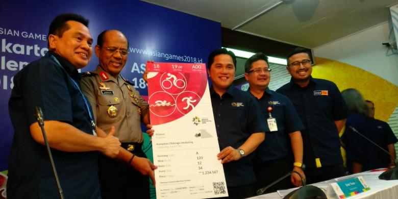 Begini Mekanisme Pembelian Tiket untuk Asian Games 2018
