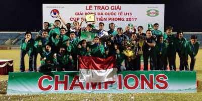 Cerita di Balik Kesuksesan Timnas U-16 di Vietnam