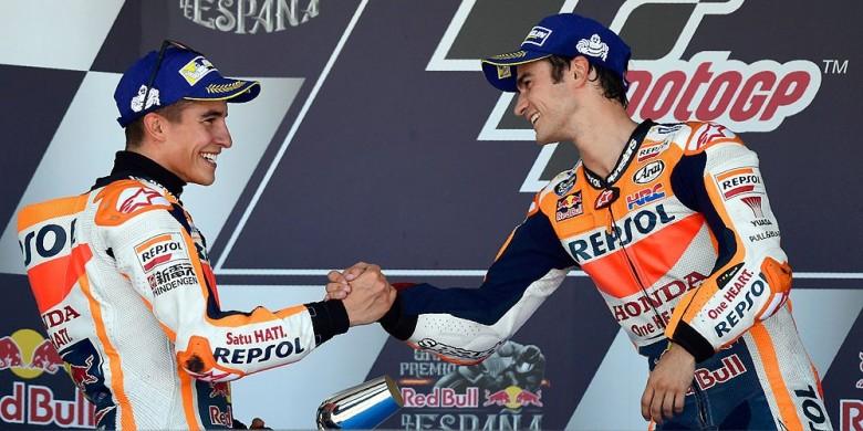 Ketika Marquez dan Pedrosa Menangi TractorGP Pertama