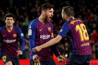 Messi Selamatkan Muka Barca