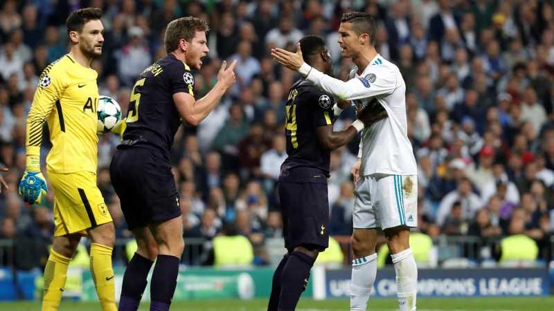 Hal-hal yang Mewarnai Hasil Imbang Madrid vs Spurs