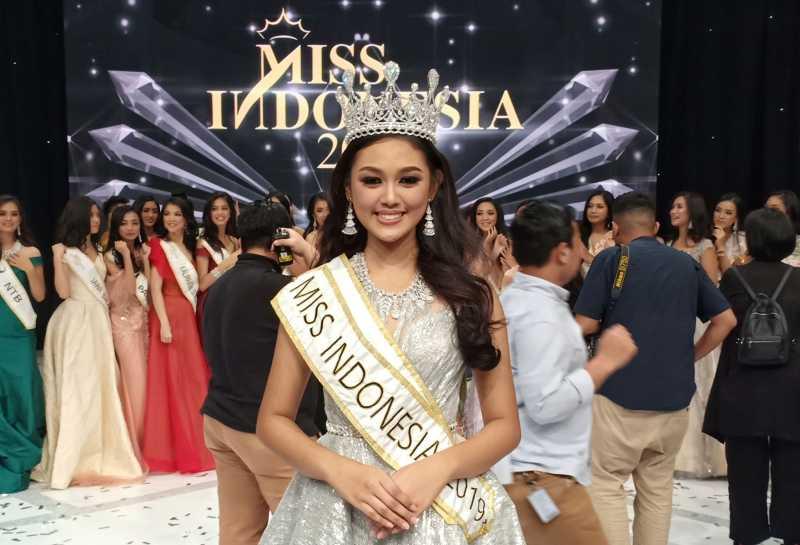 Mengenal Sosok Princess Megonondo, Miss Indonesia 2019