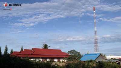 Lewat Satelit, Telkomsel Tambah Kapasitas Jaringan di Saumlaki