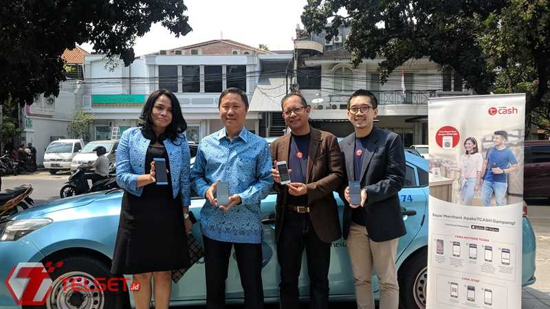 Kini, Bayar Taksi Cukup Pakai TCash
