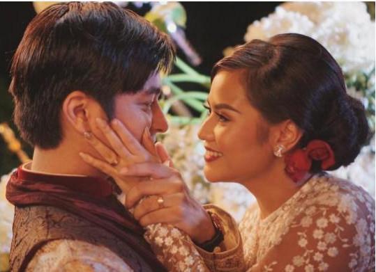 5 Potret Kemesraan Mytha Lestari dan Barry Maheswara Semasa Berpacaran