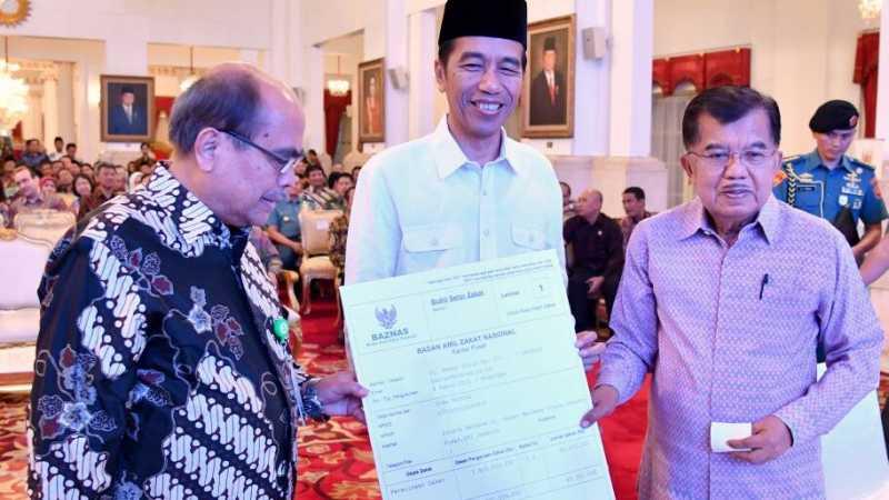 Salat Id Bersama Pertama Jokowi-JK