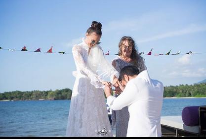 Bagikan Foto Pernikahan, Riasan Sederhana Nadine Chandarwinata Dipuji Netizen