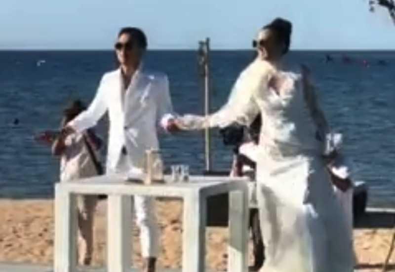 Diam-Diam Dimas Anggara dan Nadine Chandrawinata Menikah di Lombok