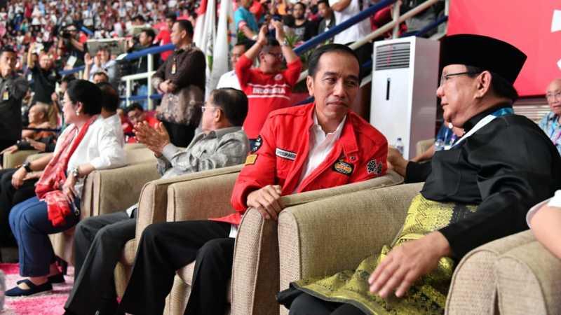 Jokowi dan Prabowo Harus Sering Berpelukan