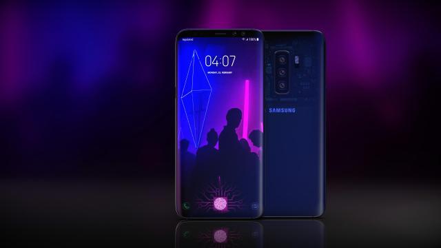 Bocor, Inikah Desain Samsung Galaxy S10?