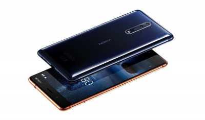 Nokia 8 Hadir dengan Snapdragon 835 dan Kamera Ganda Berlensa Carl Zeiss