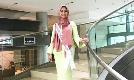Finalis Berjilbab Harap Buka Jalan Muslimah di Miss Universe