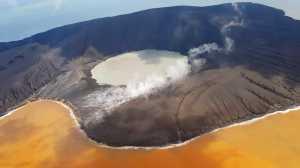 10 Years Challenge: Perubahan Wajah Anak Krakatau Selama Sedekade