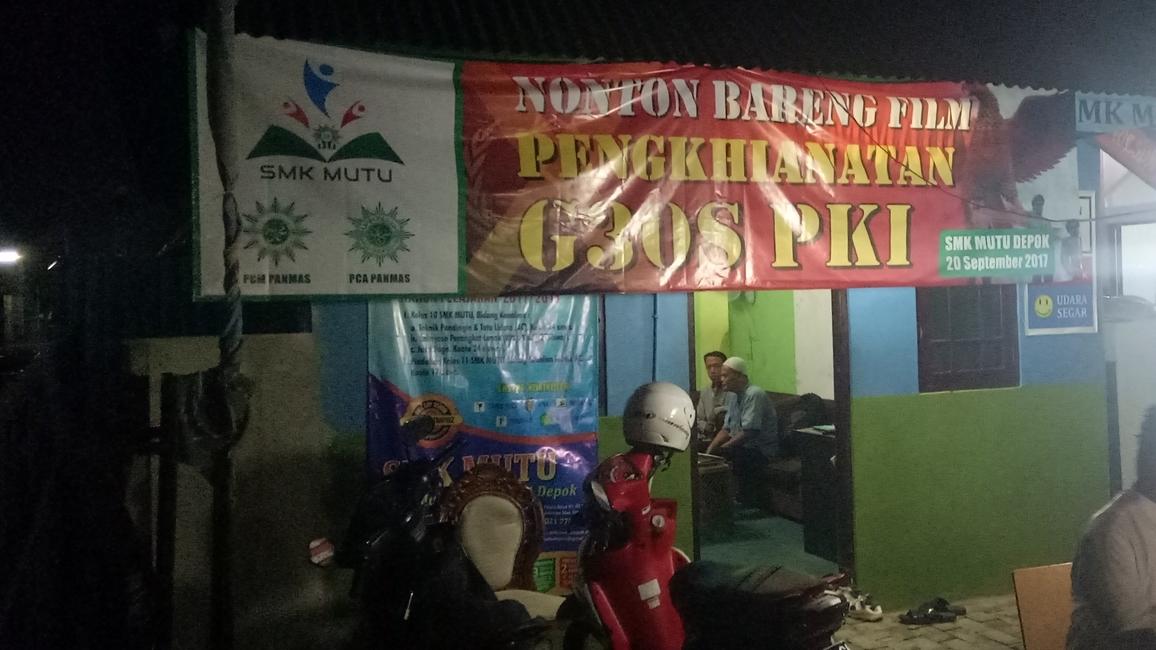 Reaksi Siswa SMK 1 Muhammadiyah Depok Usai Nobar Film G30S/PKI