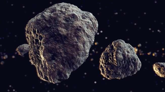 Hiii... Ada Asteroid Bentuk Tengkorak Bakal Mendekati Bumi