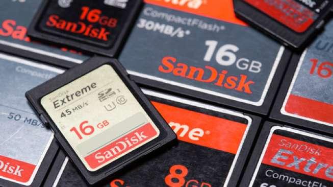 Terbesar Dunia, SanDisk Perkenalkan Flashdisk 4 TB