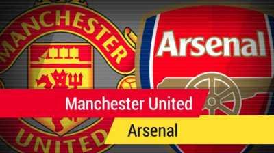 Prediksi Manchester United vs Arsenal  Malam Ini