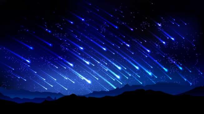 Hujan Meteor Quadrantid Sambut Tahun Baru 2019