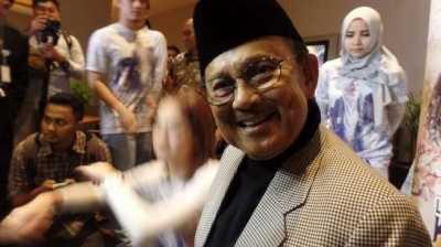 Kondisi BJ Habibie Sudah Stabil