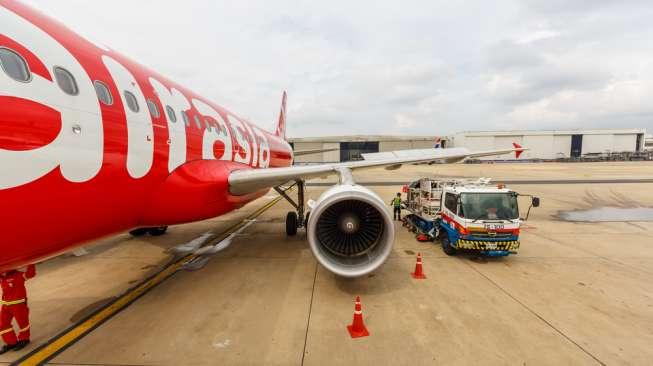 AirAsia Tujuan Bali 'Anjlok' di Ketinggian 32.000 Kaki