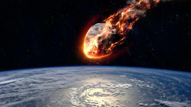 Dikira Pesawat, Bola Api yang Terbelah di Langit Inggris Rupanya Meteor