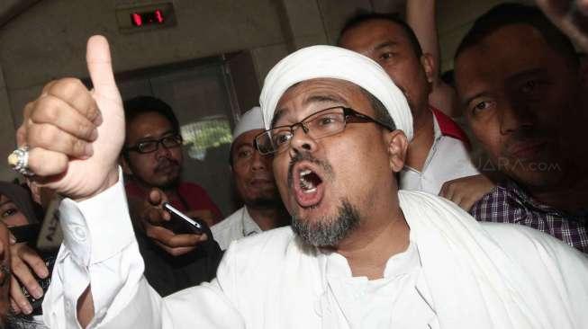 Rizieq Shihab Sekarang Resmi Jadi Buronan Polisi