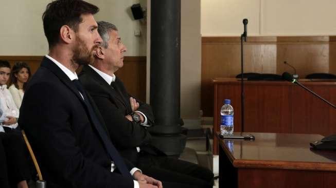 Bebas Ancaman Penjara, Messi Dikenai Denda Tambahan Rp3,8 M