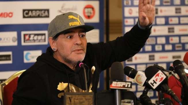Lima Tahun Menganggur, Maradona Dapat Pekerjaan