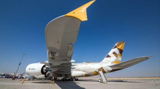 Etihad Airways Hentikan Sementara Penerbangan ke Qatar