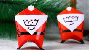 Buat Sendiri Hiasan Pohon Natal dari Karton Bekas Tisu Gulung